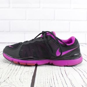 Nike Black With Purple Sneakers Size 8